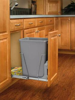 Rev-A-Shelf RV-8PB RV Series Bottom Mount Single Bin Trash C
