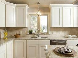 Snow White Solid wood RTA Kitchen Cabinet
