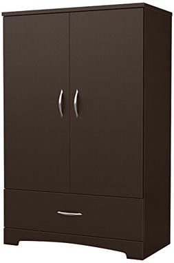 South Shore SoHo Armoire with Drawer, Multiple Finishes