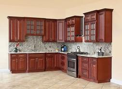 10x10 All Solid Wood KITCHEN CABINETS Cherryville RTA