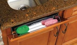 Rev-A-Shelf 28in Stainless Steel Tip-Out Tray