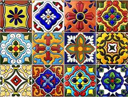 SnazzyDecal Tile Stickers 4x4in 40pc Inch Kitchen Backsplash