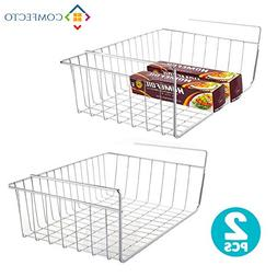 My Under Shelf Basket | 2Pcs Space Saving Easy Attach Stack