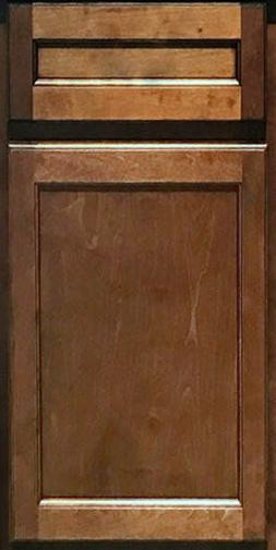 Vintage Onyx Maple Kitchen Cabinets-Sample Door-RTA - All Wo