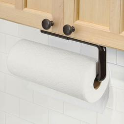 mDesign Plastic Wall Mount Paper Towel Holder & Dispenser, M