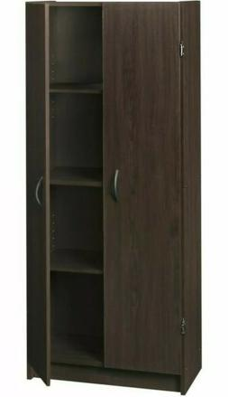 ClosetMaid Wooden Pantry Cabinet for Added Storage and Organ