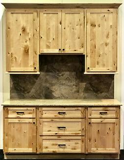 Woodland Rustic Shaker Kitchen Cabinets-Sample door-RTA-All